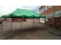 Large Canopy 20 x 10 Foot - Made by Caravan - Quality - Gazebo Awning