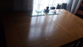 Oak Dining Table and 4 Chairs. 40 Inches LG TV for Sale