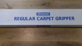 1 BOX OF CARPET GRIPPER RODS NEW