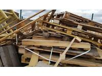 Scrap wood broken Pallets FREE