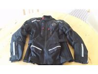 Buffalo Motorcycle Textile Jacket and Trousers with Protectors