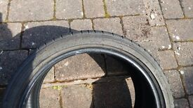Bridgestone Potenza RE050A Tyres x 2 . 4.5mm even wear just removed from car.