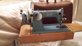 Vintage Sewing Machine with case