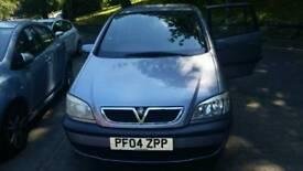 Vauxhall zafira 1.6 petrol 7seater