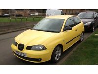 Seat Ibiza 1.9 TDI 130bhp, service hisory, cambelt changed, pulls well great on fuel