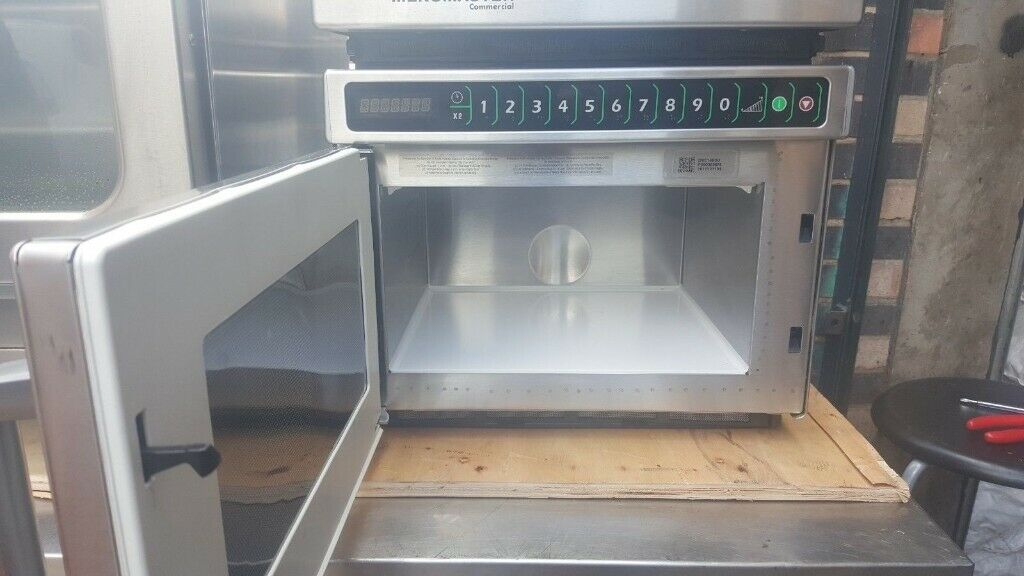 USED CATERING SECOND HAND CAFE MENUMASTER – DEC14E2 MENUMASTER COMMERCIAL  MICROWAVE OVENS,Heavy Duty | in East London, London | Gumtree