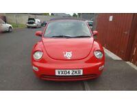2004 VW Convertible Beetle