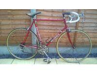 Vintage Holdsworth road bike 531 retro cycle