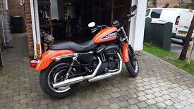Harley Davidson XL883R in very good condition.