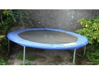 trampoline, good condition, 8ft, no net