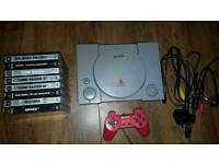 PlayStation 1 and 8 games