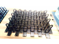 Job lot 14 x 1U Network Cable Management Bar with 4 rings for 19inch cabinet
