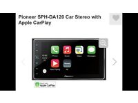 Pioneer SPH-DA120 double din Car Stereo with Apple CarPlay