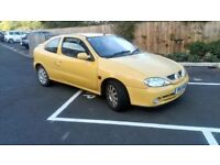 2001 RENAULT MEGANE COUPE 1.6 ONLY 77.000 MILES FULL HISTORY NEW TIMMING BELT 9MTH MOT £395!!!