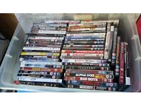 Approx 100 dvd's