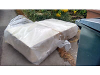 Small double bed Base. NEW . but unwanted. Quick FREE delivery. No mattress . 4ft wide divan style