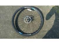 Boardman front bike wheel 700 x 35c