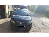 Volkswagen Touran Bluemotion 1.6 Diesel 61 Plate Metallic Black ( 5 or 7 seater ) Parking sensors