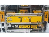 Brand new dewalt drill and compact