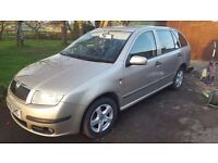 Skoda Fabia 1.2 estate one owner from new
