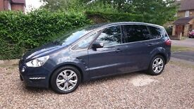 Ford S-MAX Leather Seats, Sat-Nav, Parking Sensors & Camera
