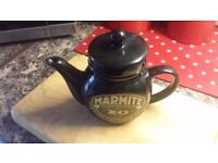 Rare Marmite XO Teapot Black Collectable In Excellent Condition