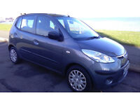 09 HYUNDAI i10 1.2 CLASSIC 5 DOOR**60,000 MILES**FULL SERVICE HISTORY**1 OWNER**10 MONTHS M.O.T.**