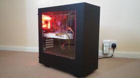 NZXT i5 Gaming PC, i5 3450, 8GB RAM, GTX 960 4GB GPU, Windows 8.1