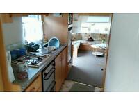 Static caravan for sale in girvan, south ayrshire, bynehill site, 6 berth, 2 bedrooms