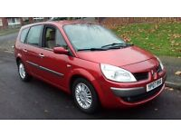 Renault Grand Scenic 2007 12 months mot LOW MILEAGE