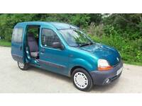 RENAULT KANGOO AUTOMATIC WITH WHEEL CHAIR RAMP