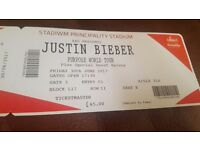 BARGAIN Justin Bieber Tickets