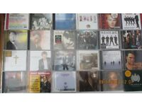 CDs For Sale. pop,classical, musical themes. Many Artists