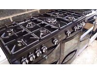 Brand New Range Black New World Vision 100G Gas Cooker And Electric Oven
