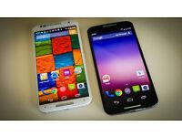 New Motorola Moto X (2nd Gen) - 32GB Black Unlocked for all network.