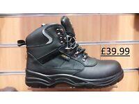 Jontex Steel Toe + Midsole, Waterproof Safety Boots Hiker Style £39.99