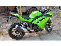 Kawasaki Ninja 300 only 1000 miles!