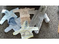 Baby boys clothes bundle, newborn/first size and 0-3months