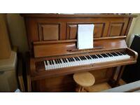Upright Stein bach piano