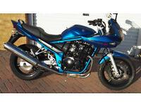 Suzuki GSF 650 Bandit Blue