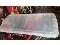 Storage underbed containers