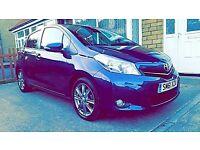2012 TOYOTA YARIS SR VVT-I BLUE FULL TOYOTA HISTORY REVERSE CAMERA BEAUTIFUL CAR