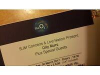 x2 Olly Murs Tickets - London o2