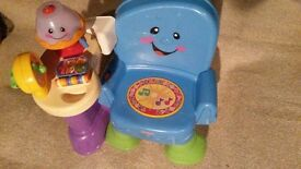Baby-toddler learning toy