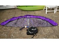 4 power kites , buggy, board, 3 harnesses, helmet, knee and elbow pads, plus extras