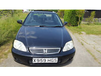 Honda Civic Automatic SEi Year 2000 only 93000 miles