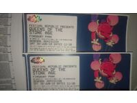 2 Tickets For Queens of the Stone Age at Finsbury Park 30th June