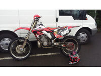 2005 HONDA CR 250 2 STROKE PX WELCOME 85 125 250 450 ???? £2100.