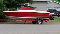 2011 Monterey boat and trailer