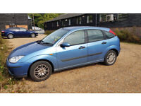 Ford Focus LX 2003 1.6 , 107k good runner, priced to sell